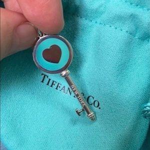 Tiffany&co medium blue key